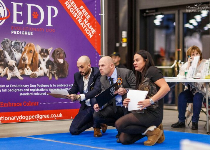 EDP attend Royal Bully Show in Russia